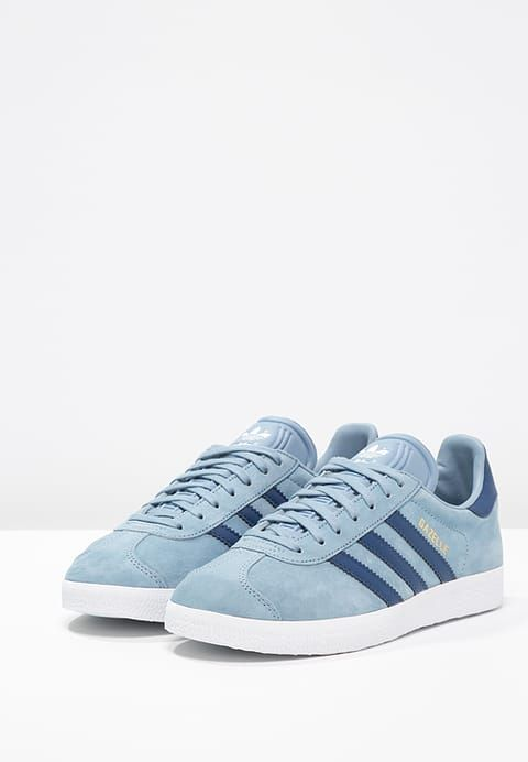 adidas gazelle blauw zalando