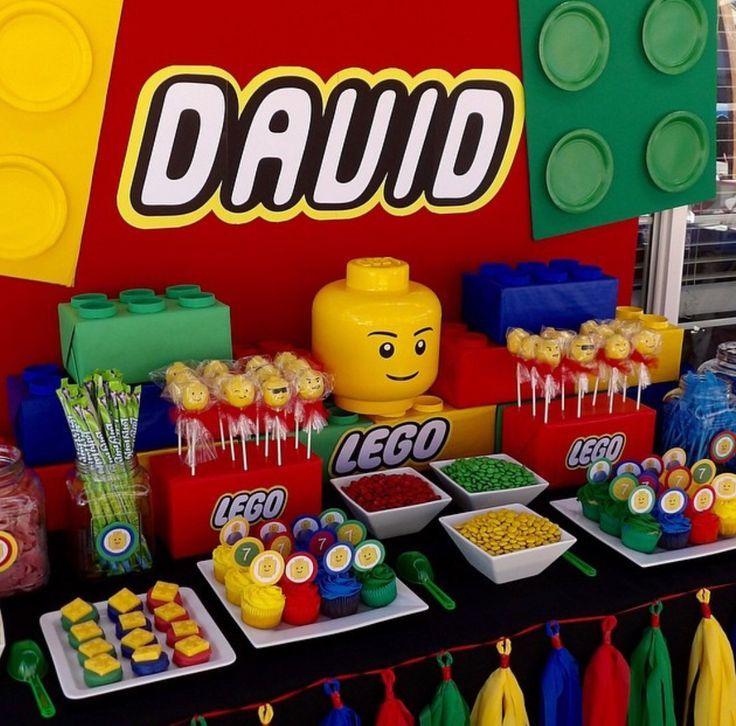 Lego Buffet Das Ist Wirklich Eine Schone Idee Zum Kindergeburtstag