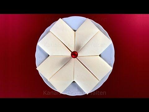 Engel basteln mit Papier-Servietten. Basteln Weihnachten: Weihnachtsengel Weihnachtsdeko: Origami - YouTube