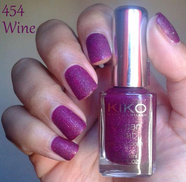 Kiko Sugar Mat Nail Lacquer Set : The Big Swatch | Re-Pin Nail ...