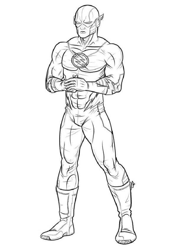 The Flash Coloring Pages Collection Superhero Coloring Superhero Coloring Pages Avengers Coloring Pages
