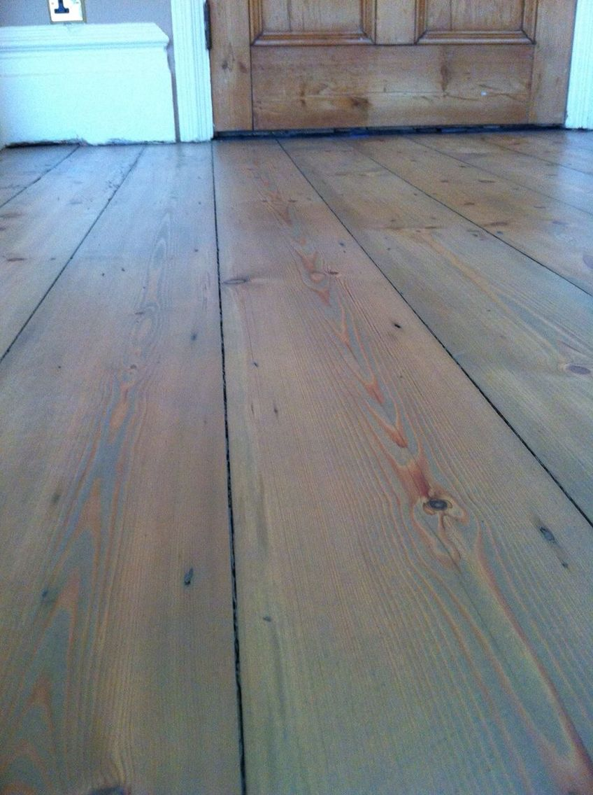 Pine Flooring With A Grey Hardwax Oil Wood Floor Restoration Floor Restoration Flooring