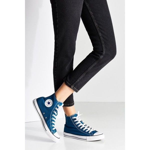 eb9d7821ff97 Converse Chuck Taylor All Star Seasonal High Top Sneaker ( 60) ❤ liked on Polyvore  featuring shoes