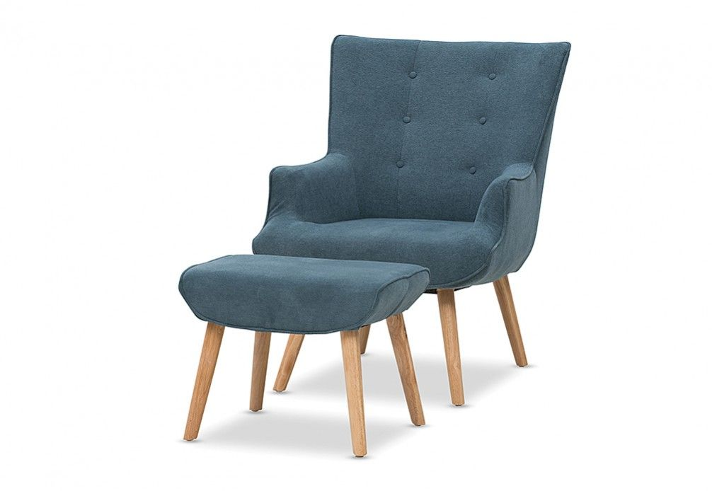 Traby Accent Chair with Foot Stool | Super Amart $399  sc 1 st  Pinterest & Traby Accent Chair with Foot Stool | Super Amart $399 | office ... islam-shia.org
