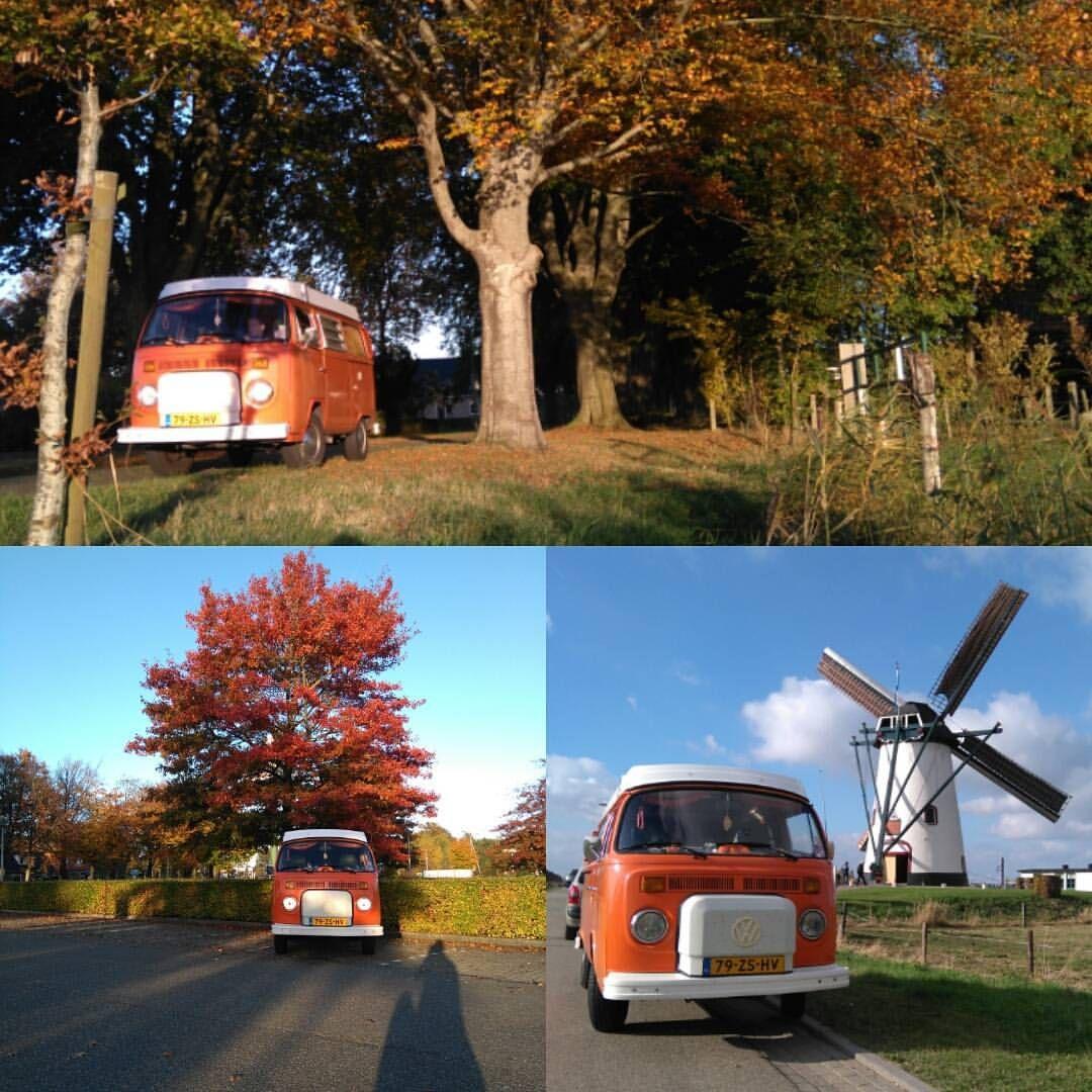 Weekendje weg ook gebruikt voor een kleine #fotoshoot met de #T2 en #herfstkleuren