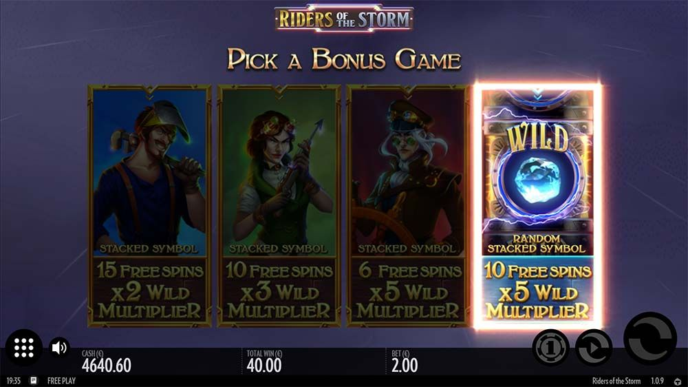 Spiele Riders Of The Storm - Video Slots Online