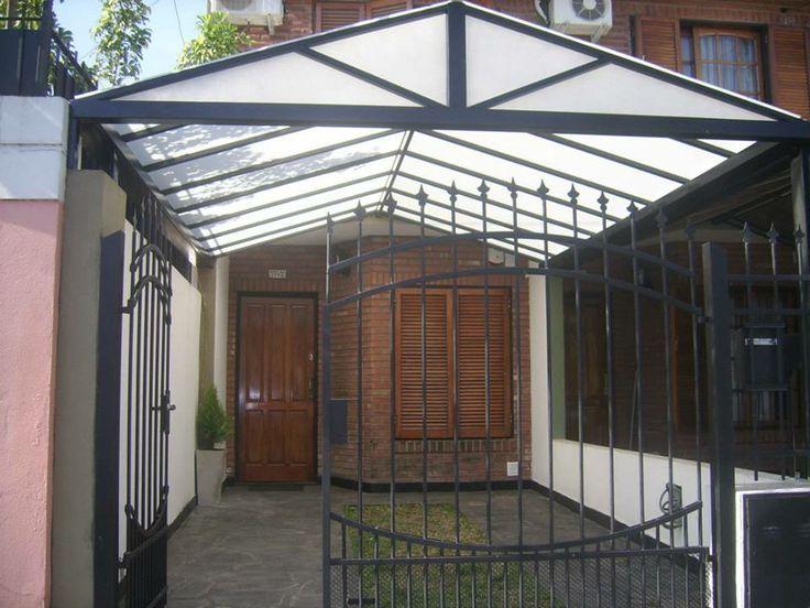 Resultado de imagen para techo de policarbonato techos for Techos para garajes