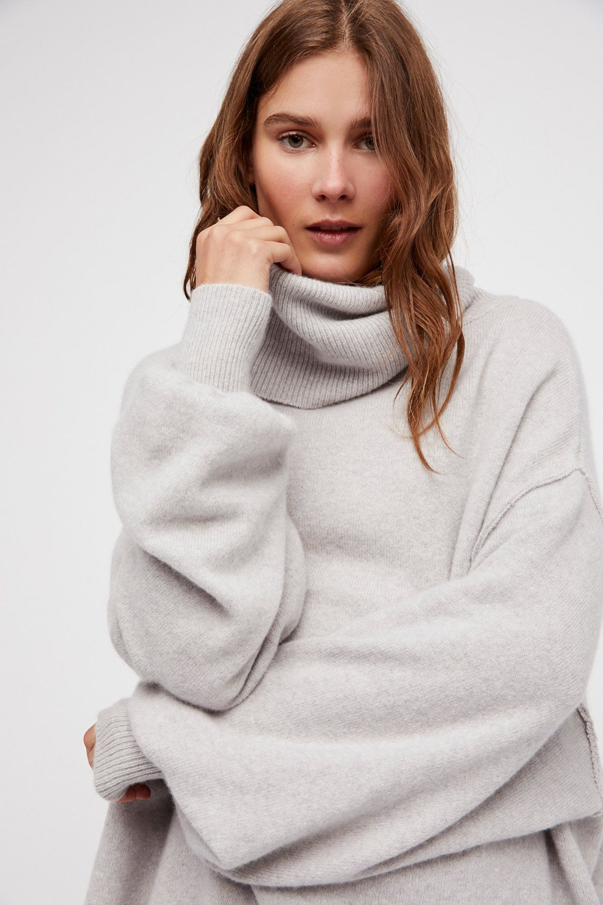 Keep A Secret Cashmere Tunic | Super cozy oversized tunic sweater ...
