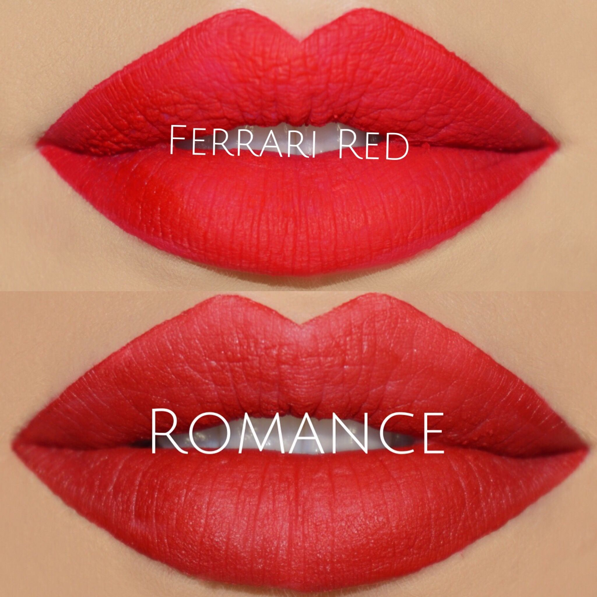 Different Shades Of Red the different shades of red | matte liquid lipsticks | pinterest