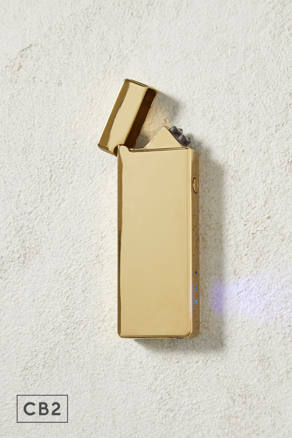 Sleek Brass Usb Candle Lighter Uses Electrical Energy Instead Of Harmful Butane Gas To Light Candles Indoors And Out In 2020 Candle Lighters Lighter Electrical Energy