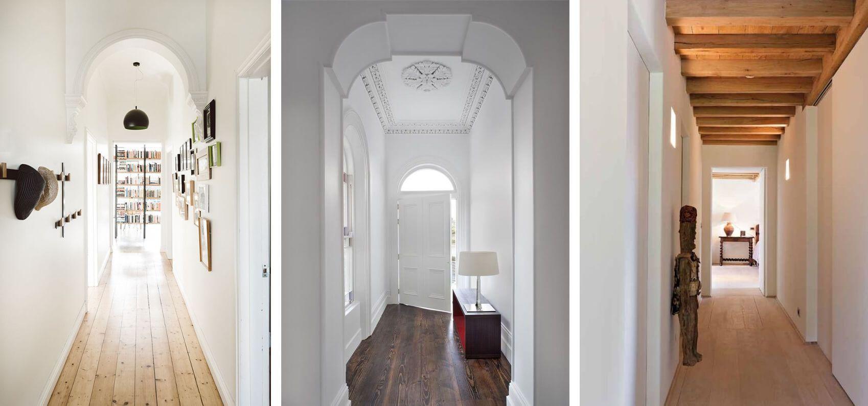 Narrow hallway decor  Narrow Hallway Decorating Ideas  hallway ideas  Pinterest