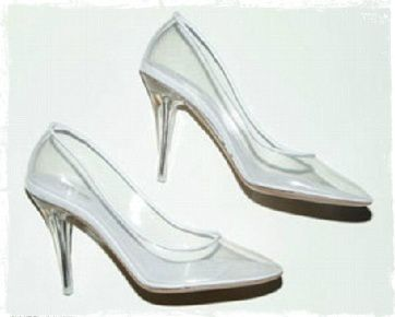 -Marc Jacobs Cinderella shoe... I better start saving now !