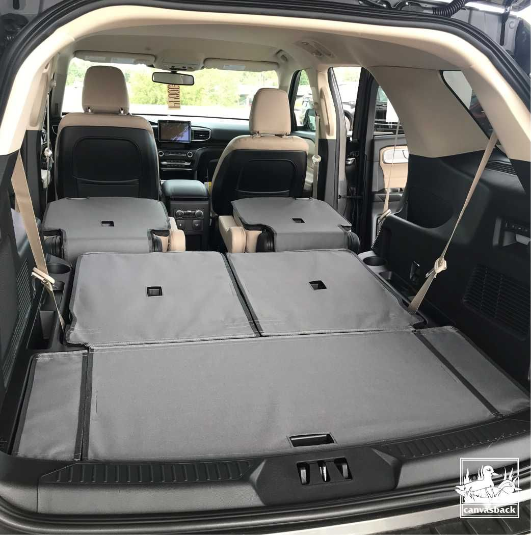 Makesandmodelsmonday Introducing The New Canvasback Cargo Liner For The 2020 Ford Explorer Thank You To Our Fr Car Protection Cargo Liner 2020 Ford Explorer