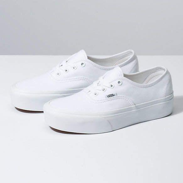 Authentic Platform 2.0 | Shop Classic Shoes in 2020 | White ...
