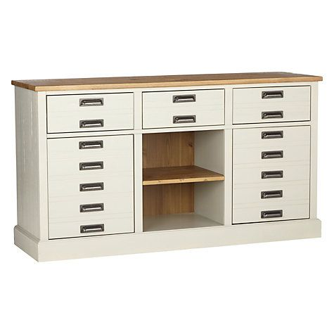 John Lewis Partners Durham Sideboard Adjustable Shelving Storage Spaces Sideboard Cabinet