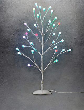 2ft Cute Colour-Changing Ball Christmas Tree MS Hạt cườm