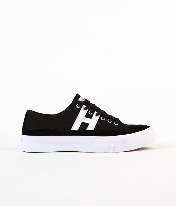EMERICA Shoe HSU 2 FUSION black white gum Schuh Sneaker