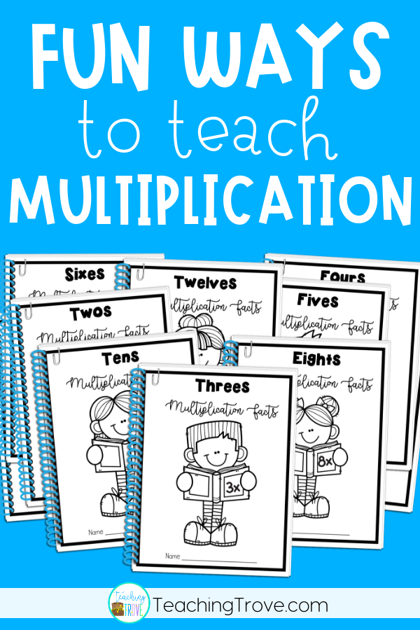 Multiplication Facts Practice Booklets | Multiplication ...