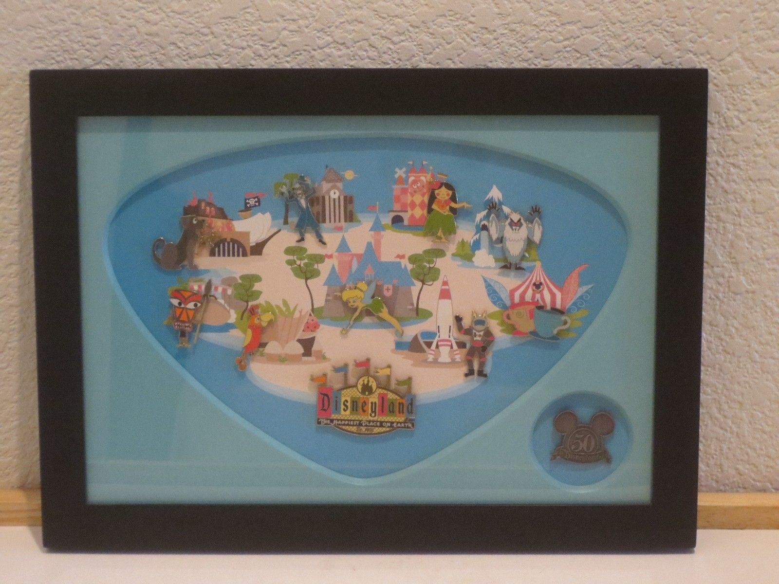 A very nice Disney Framed Pin Set. I do not know the official title ...