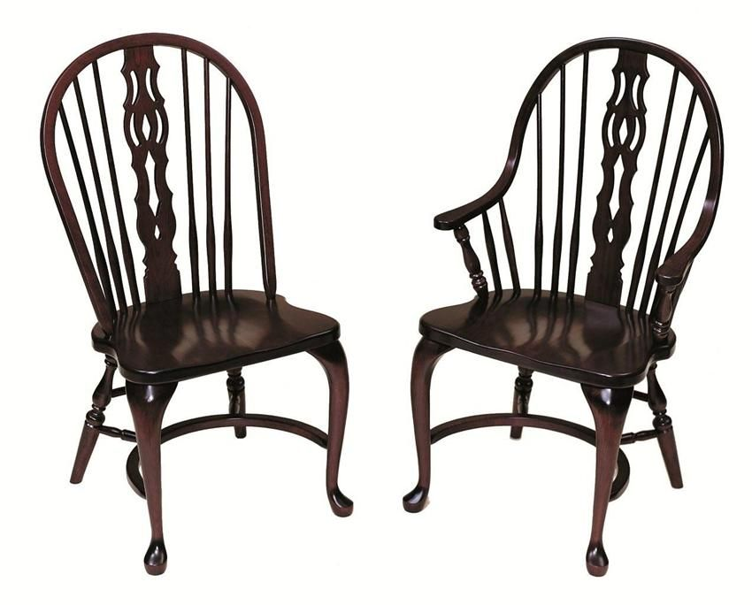 Amish Regent Windsor Dining Chair   Keystone Collection
