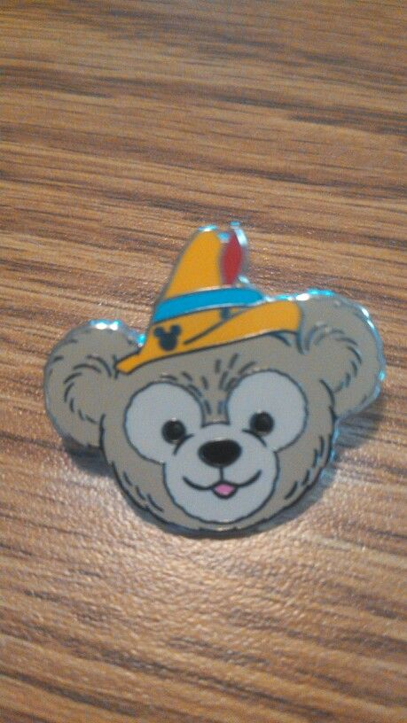 Duffy the Disney Bear as Pinnochio Hidden Mickey Disney Pin