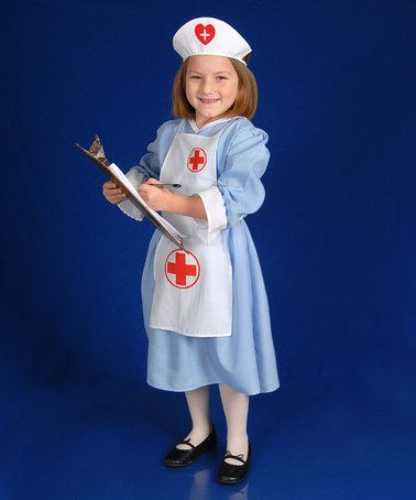 Take A Look At This Nurse Dress Up Set Toddler Girls By Dress Up America On Zulily Today Nursing Dress Toddler Girl Cute Costumes
