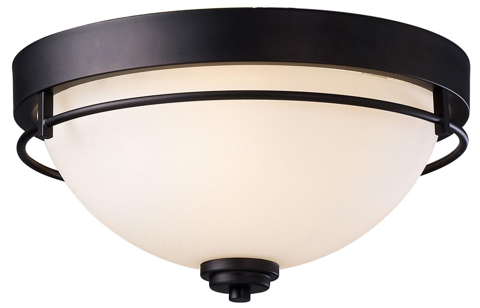 Canarm Ifm421a15orb Somerset 3 Light Flushmount Oil Rubbed Bronze Bedroom Light Fixtures Bronze Ceiling Lights Diy Light Fixtures