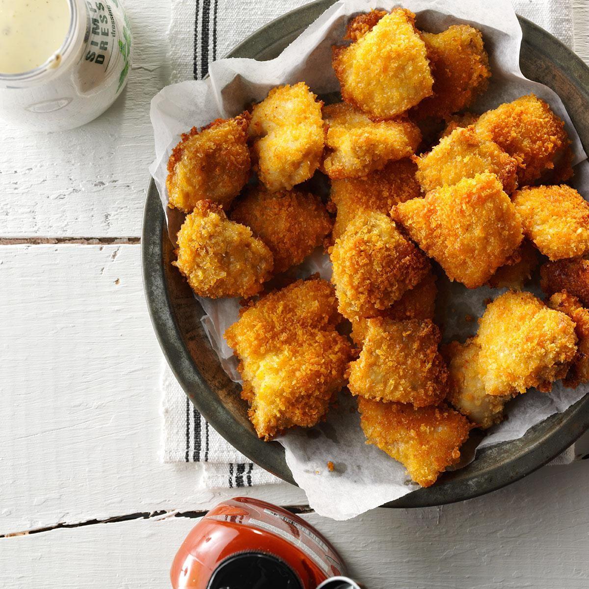 chicken nuggets recept