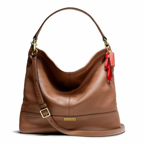 Coach Park Leather Hobo. I almost bought this purse today ...