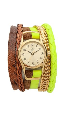 Sara Designs Multi Strand Magnet Watch |