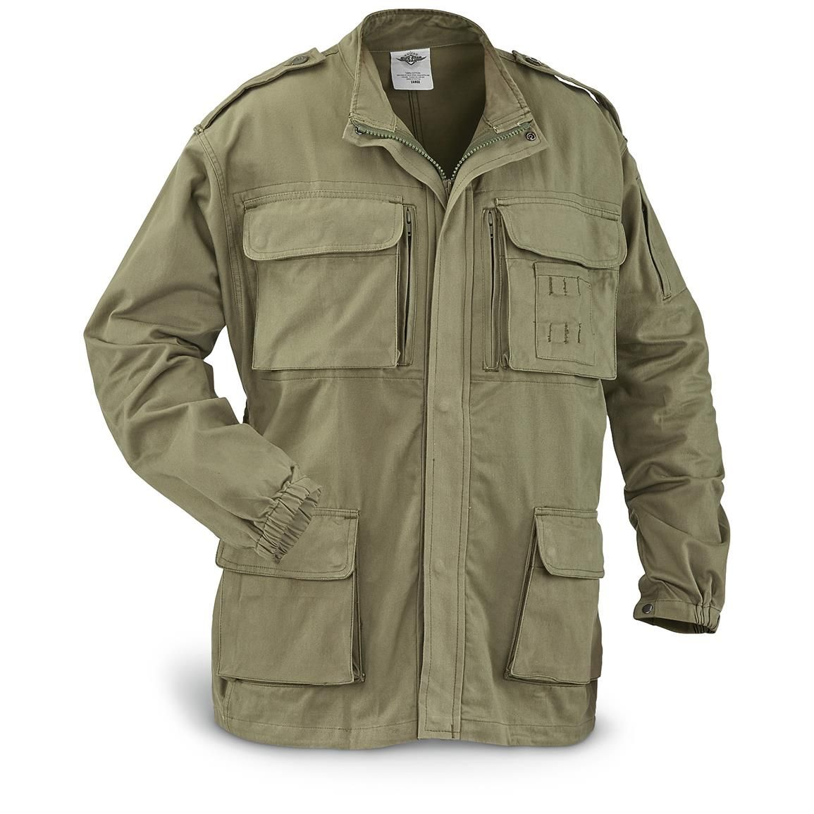 5ive Star Gear Concealed Carry Field Jacket, Stonewashed | concealed