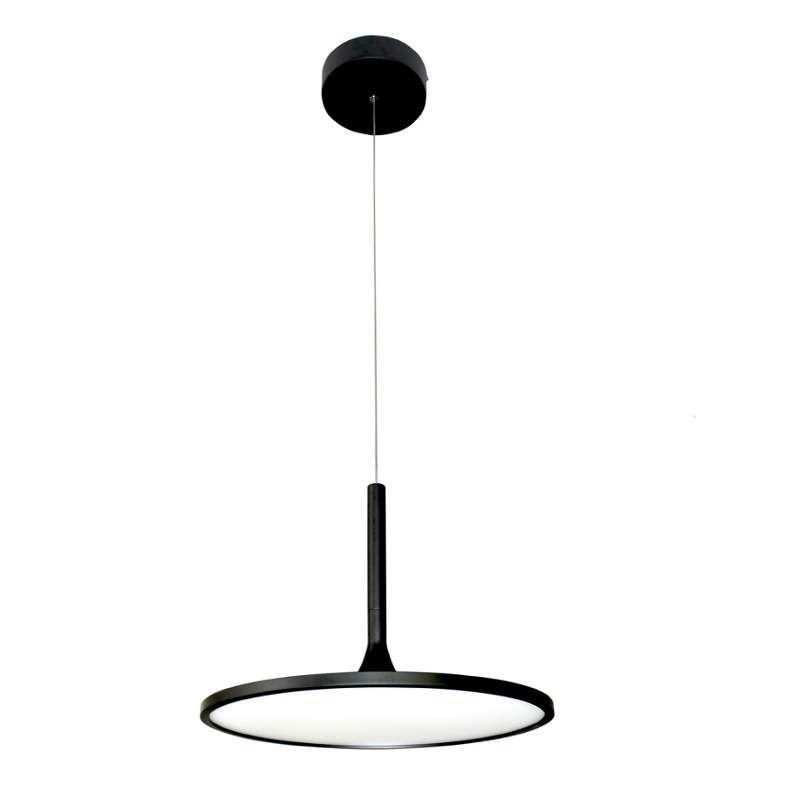 VONN VMC31810 Salm Single Tier LED Indoor Chandelier Black Indoor Lighting Chandeliers