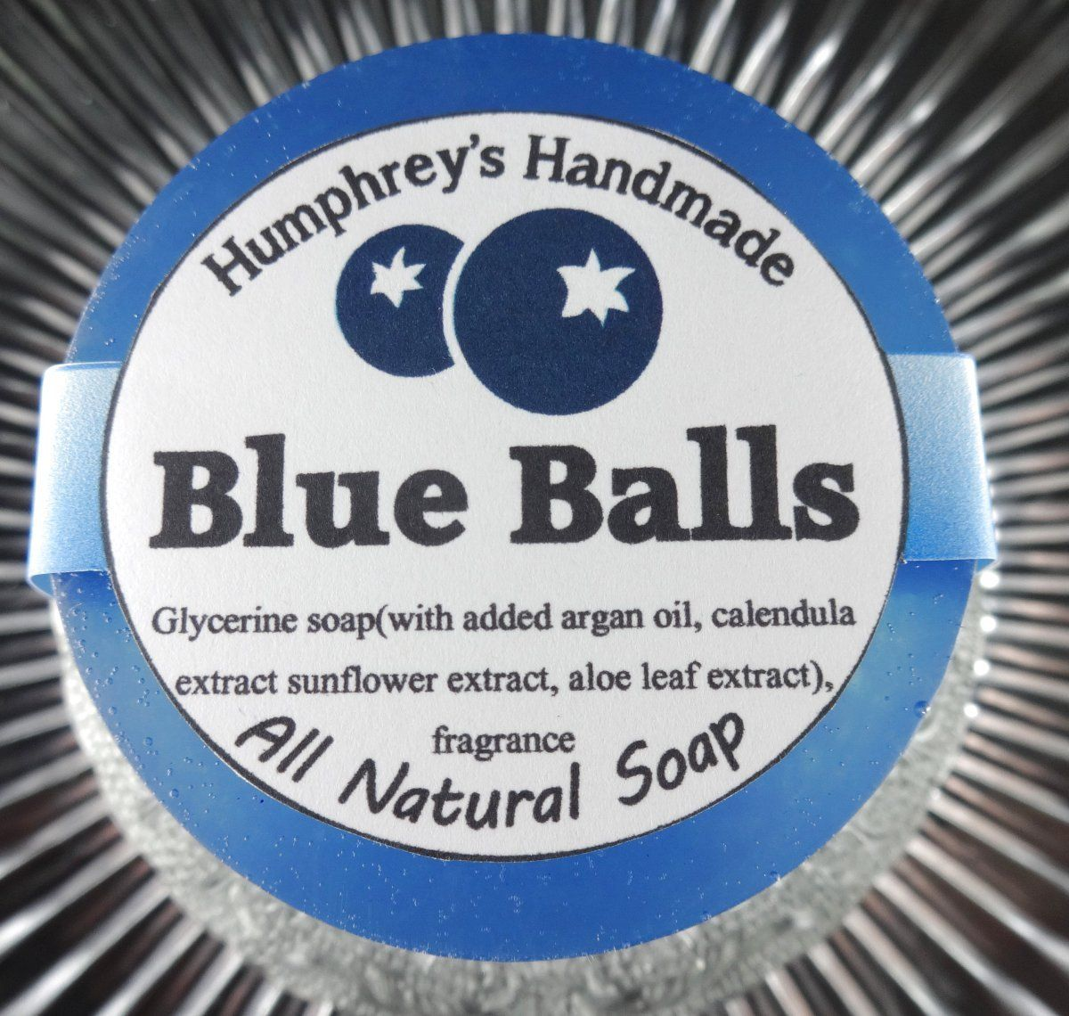 BLUE BALLS Blueberry Soap | Womens Shave Soap | Body Bar