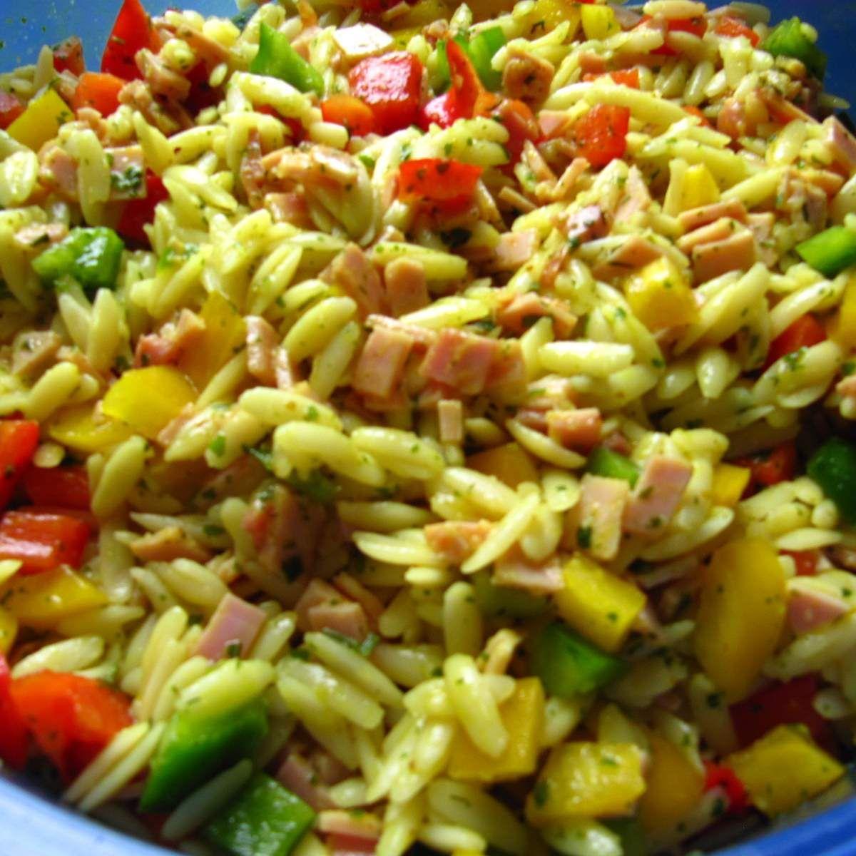 Photo of Kritharaki salad (noodle salad)