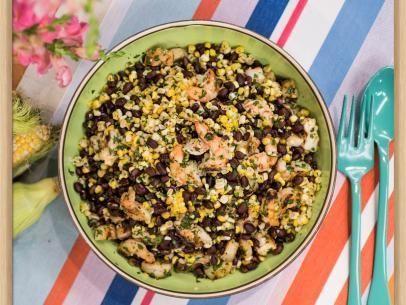 Salat aus schwarzen Bohnen und Mais  #aus #bohnen #Mais #salat #schwarzen #und