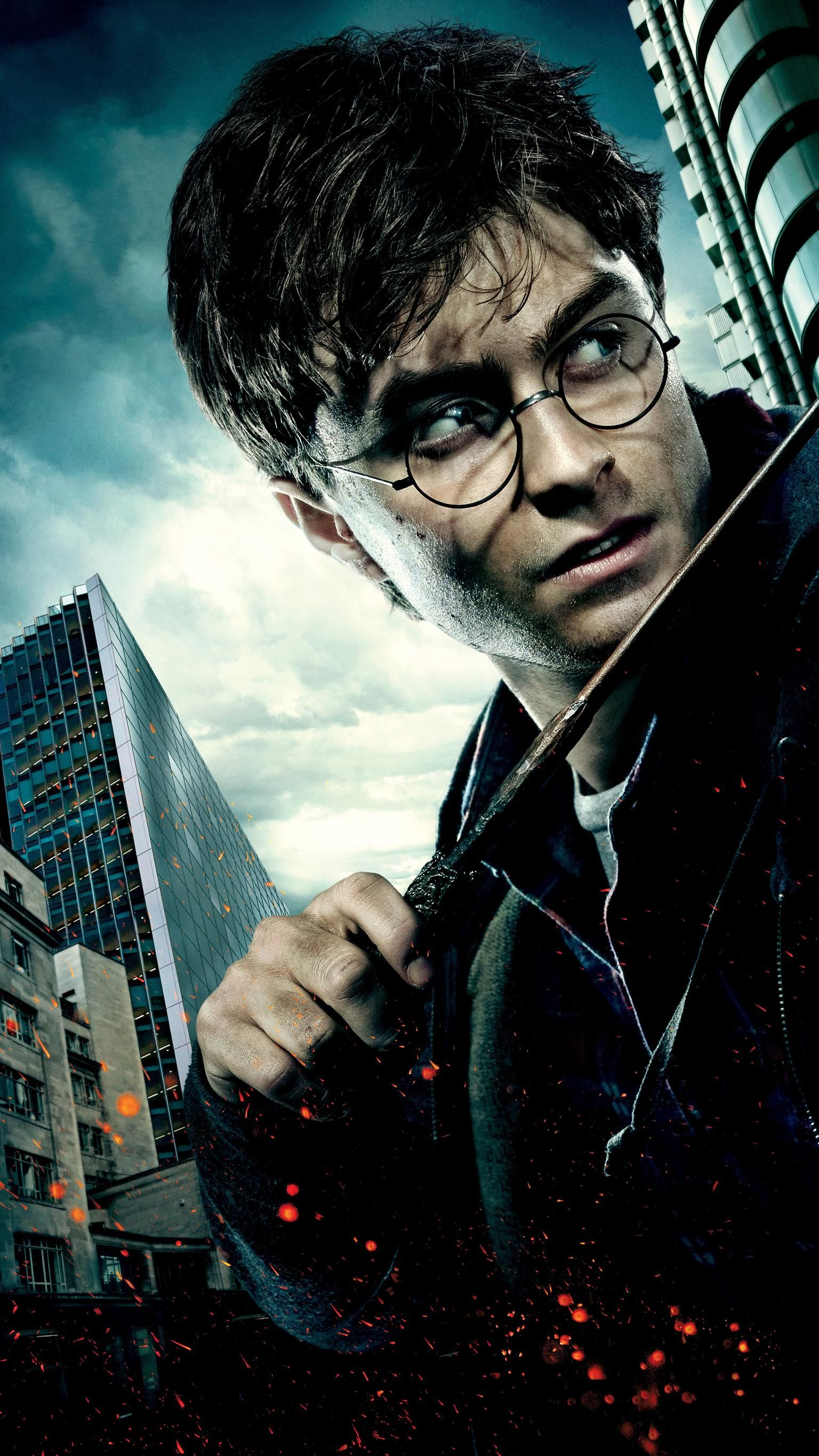 Harry Potter And The Deathly Hallows Part 1 2010 Phone Wallpaper Moviemania Harry Potter Wizard Harry Potter Movie Posters Deathly Hallows Part 1