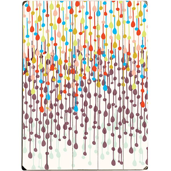 ArteHouse Candy Chandelier Wood Wall Art ($50) ❤ liked on Polyvore featuring home, home decor and wall art