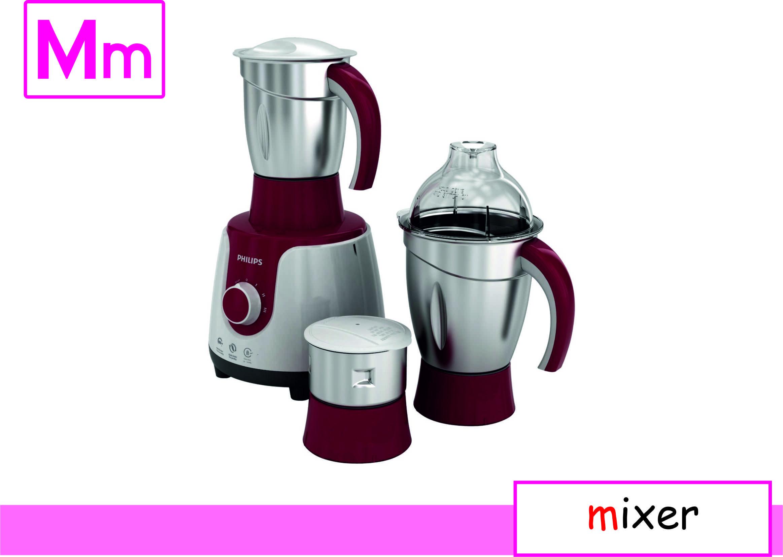 Flash Card by Graphic Designer Kitchen appliances, Mixer
