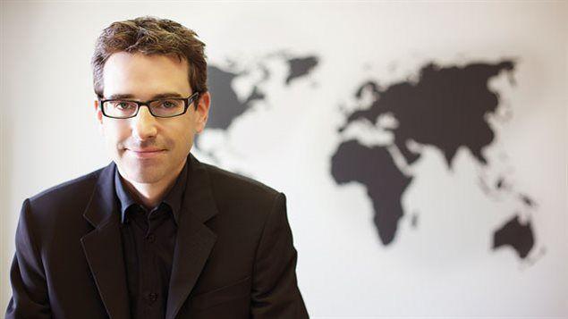 El abogado Pascal Paradis, Director Ejecutivo de Abogados sin Fronteras en Quebec, Canadá.
