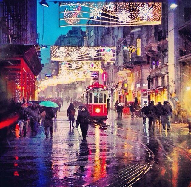 【 Istanbul ·NIGHT】İstanbul / istiklal..