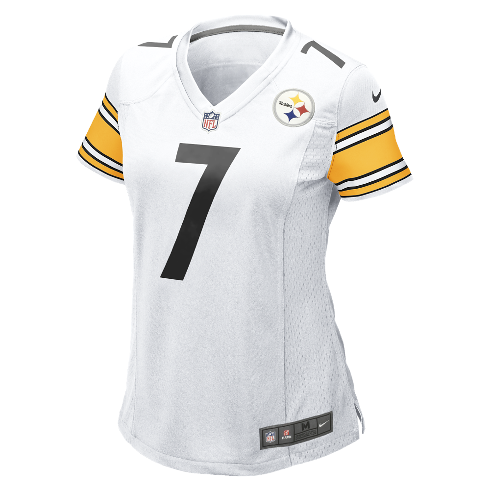 a566d5e87 Nike NFL Pittsburgh Steelers (Ben Roethlisberger) Women's Football Away  Game Jersey Size Small (White) - Clearance Sale