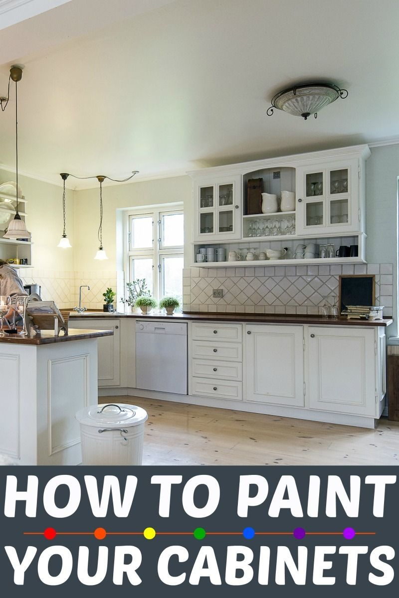How To Paint Your Kitchen Cabinets Or Bathroom Learn Easily And Effectively With The Right