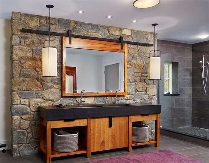 Resources For Commercial Builders Marvin Family Of Brands In 2019 Rustic Bathroom Designs Bathroom