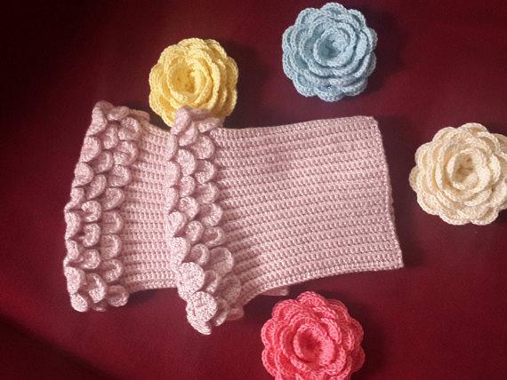 powderpink Crochet Boot Cuff Women\'s Crochet Leg Warmers,Boot ...