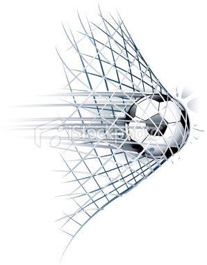 Soccer Goal Stock Vector Art 19810656 Istock Soccer Art Soccer Tattoos Soccer Drawing