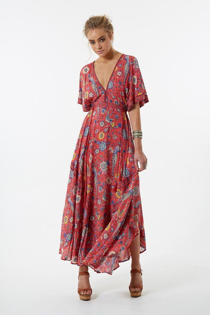 Spell Lovebird Half Moon Gown - Rose   My Style   Pinterest   Gowns ...