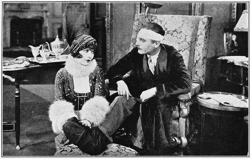 Renee Adoree and Lew Cody in Man and Maid