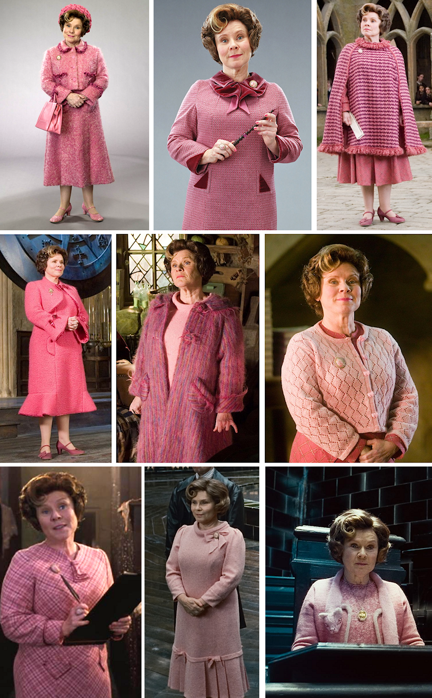 Costumes Dolores Ombrage Deguisement Harry Potter Fait Maison Cosplay Harry Potter Harry Potter Bricolage