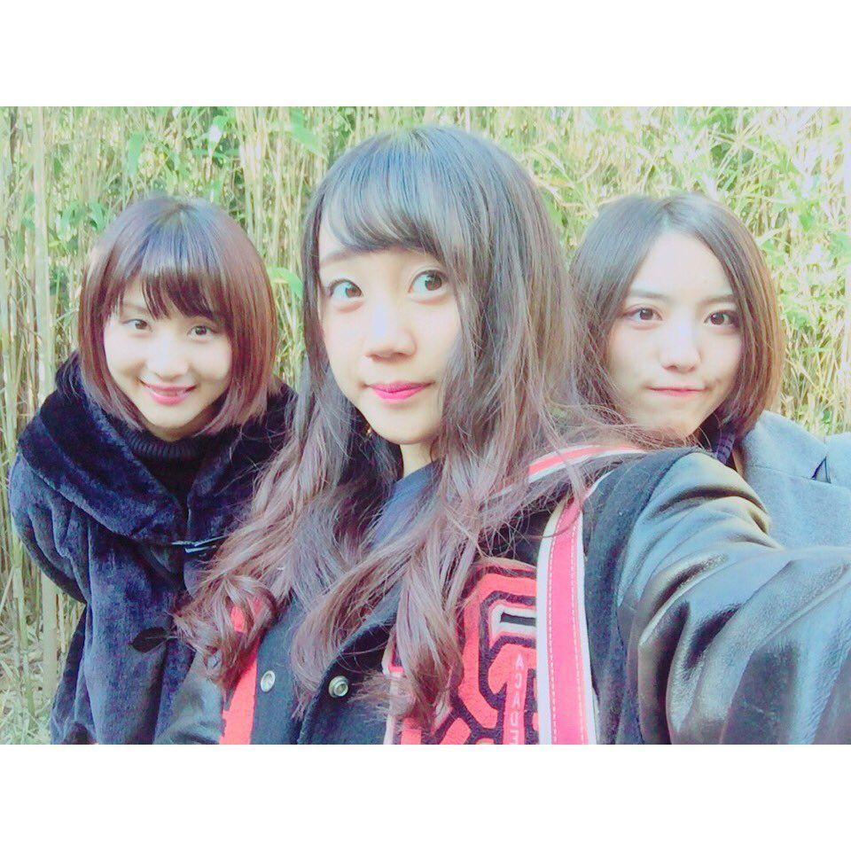 Momoka Hayashi x Shu Yabushita x Anna Ijiri  http://tmblr.co/Z0FrOy1zYEYub