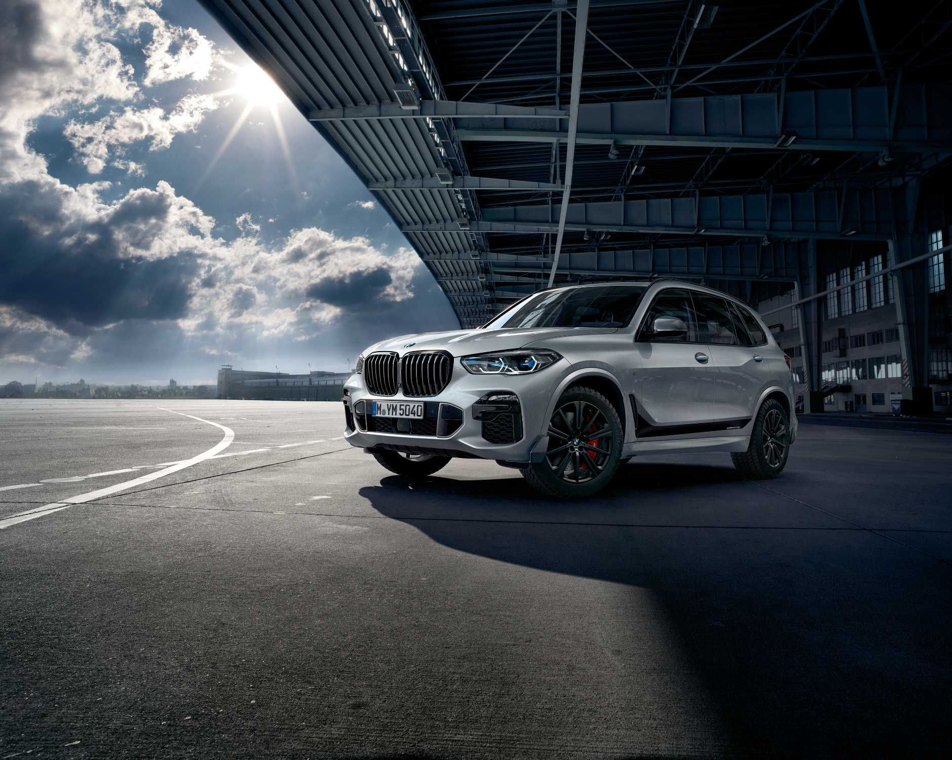 The New Bmw X5 With M Performance Parts Extensive Range Of M